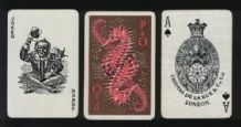 Collectable Shipping lines playing cards P. & O. sea-horses